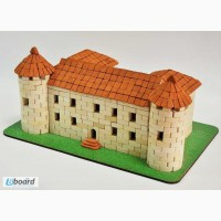 Чинадиевский замок Сент-Миклош конструктор из керамических кирпичиков