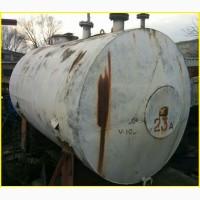 Емкость из пищевой нержавейки (н/ж) 08Х18Н10Т (AISI 321) 10м3 (куб. м)