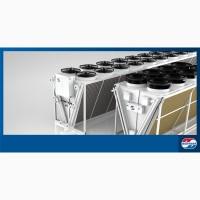 Сухие градирни (драйкулеры) •Конденсаторы воздушные •Воздухоохладители •Шокфростеры •