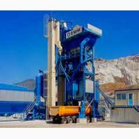 Быстромонтируемый асфальтобетонный завод Е-МАК 160 т/час (Турция)