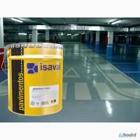 Краска для бетонных полов ISAVAL Дуэполь Полиуретан 4л - паркинги, гаражи, СТО
