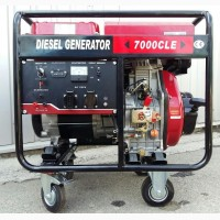 Дизельный генератор WEIMA WM7000CLE ATS (7 кВт, Стартер, Автоматика)