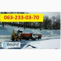 Уборка территории от снега, снег убрать, механизированная уборка снега
