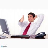 Работа с рекламой, документацией, возможность развития своей бизнес структуры