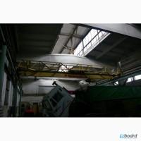 Кран-балка опорная 3, 2 т, пролет 12м, 2х30 м подкрановый путь, на металлических опорах