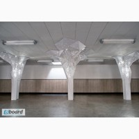 Декоративные колонны с подсветкой