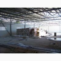 Быстровозводимые склады из металлоконструкций. Металлоконструкции