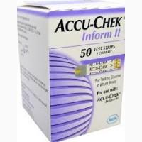 Высокоточные тест-полоски для Accu-Chek Inform II (Акку-Чек Информ 2)
