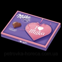 Конфеты Milka Pralines strawberry клубника 110г