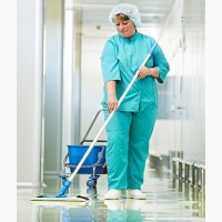 Работа для женщин: уборка в медицинском учреждении в Литве