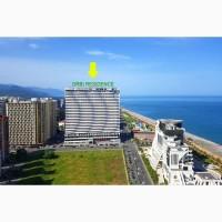 Orby Resedence Batumi, 60 метров от пляжа, вид на море, 54 м2, в двух уровнях, два санузла