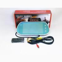 7 Монитор-зеркало для камеры заднего вида Full HD MP5 Bluetooh + USB