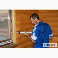 Герметик для срубов, герметик для швов деревянных домов, дома в Украина, Одесса