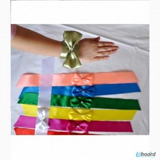 Свадьба: бантики на руку для девичника