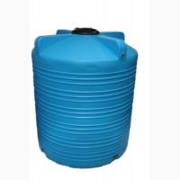 Вертикальная пластмассовая емкость V-5000 литров