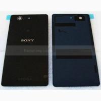 Крышка аккумулятора Sony Xperia Z3 compact D5803/ D5833 Black, 1285-1181