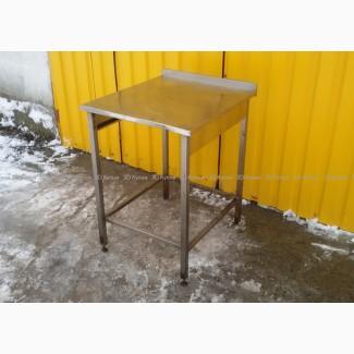 Бу стол из нержавеющей стали для кухни кафе или общепита, 1350грн