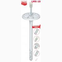 Дюбель фасадный со стальным гвоздем с пластиковой термоголовкой LMX-10