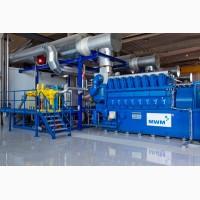 Газопоршневая электростанция SUMAB (MWM, Jenbacher) 4000 Квт