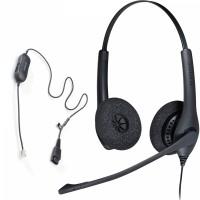 Snom D717 + Jabra Biz 1500 Duo QD, комплект: sip телефон + гарнитура