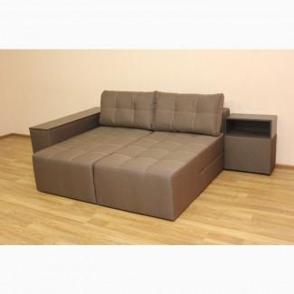Новый угловой диван трансформер Бруклин украинской мебельной фабрики Катунь