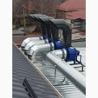 Монтажні роботи для систем вентиляції