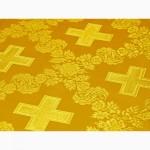 Производим и реализуем шелковые и парчовые ткани церковной тематики