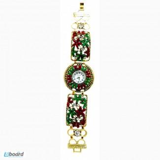 Часы женские на кожаном ремешке