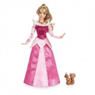 Принцесса Аврора с фигуркой белки
