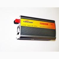 Преобразователь (инвертор) 12V-220V 1000W silver