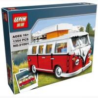Конструктор Lepin 21001 Фургон Volkswagen T1 аналог Лего 10220 lego
