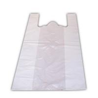 Белый пакет майка 28х50 см