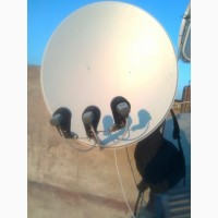 Комплект оборудования спутникового телевидения купить в харькове