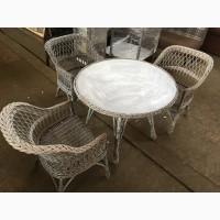 Плетеная мебель б/у кресла из лозы б/у