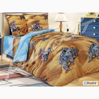 Постельное белье в детскую кроватку, Комплект Сафари 3Д