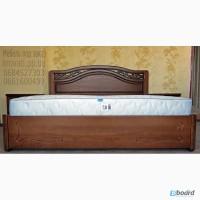 Кровать двуспальная из массива ясеня с ящиками от производителя