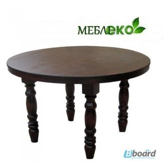 Обеденный стол от прямого производителя, Стол Круглый на 4-х ногах