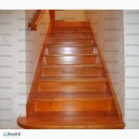Лестницы деревянные, отделка бетонных лестниц деревом