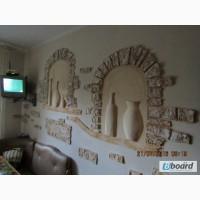 Дизайн интерьеров, роспись стен, барельеф