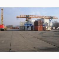 Действующее предприятие по перегрузке различных экспортных -импортных грузов