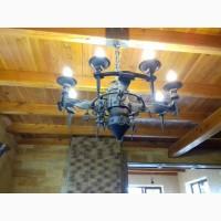 Породам люстры (светильники) кованные (на фото). Цена от 6000 грн