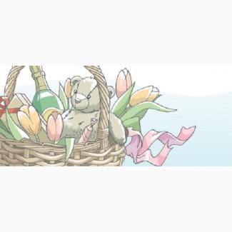 Заказать цветы в коробке, доставка по Одессе