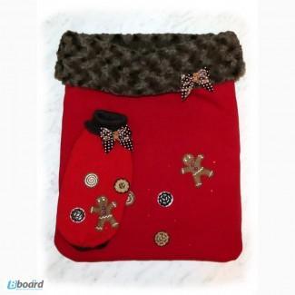 Рождественский набор: мешочек и свитер