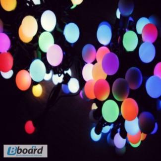 Световые гирлянды-шарики, купить оптом