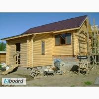 Герметизация, Шлифовка, деревянного дома сруба