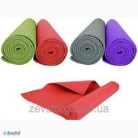 Коврик для фитнеса, йоги, пилатеса/гимнастический коврик 170х60х0, 4 см
