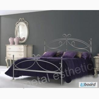 Кованая кровать «Лилия»