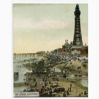Открытка (ПК) «The Sands, Blackpool». Лот 43