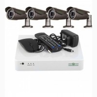 Комплект відеоспостереження. Відеокамери 1 Мп