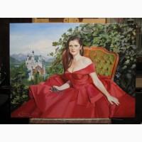 Портрет масляными красками по фото - оригинальный подарок к любому празднику!